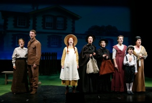 """A Home For Me"" from BEND IN THE ROAD: The Anne of Green Gables Musical. Photo by Carol Rosegg. © 134 West, LLC"
