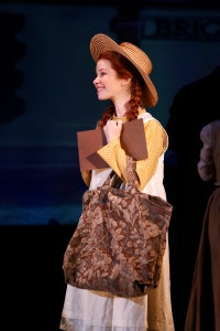 Alison Woods made her New York debut as Anne Shirley in BEND IN THE ROAD: The Anne of Green Gables Musical. Written by Benita Scheckel and Michael Upward. Based on Anne of Green Gables by L. M. Montgomery. Photo by Carol Rosegg © 2013 134 West, LLC