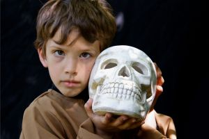 Alas, poor Yorick...  Sing a Song of Shakespeare with O Baby Mine.